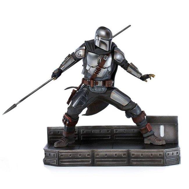 Iron Studios Star Wars The Mandalorian BDS Art Scale Statue 1/10 Mandalorian 20 cm