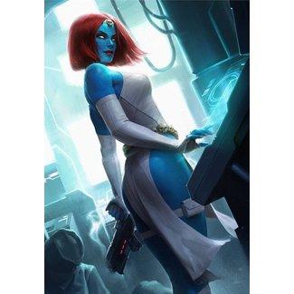Sideshow Collectibles Marvel Art Print Mystique 46 x 61 cm - unframed