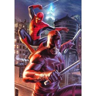 Sideshow Collectibles Marvel Art Print Daredevil & Spider-Man 46 x 61 cm - unframed