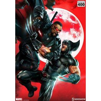 Sideshow Collectibles Marvel Art Print Wolverine vs Blade 46 x 61 cm - unframed