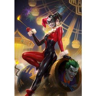 Sideshow Collectibles DC Comics Art Print Harley Quinn & The Joker #37 46 x 61 cm - unframed