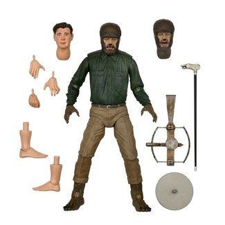 NECA  Universal Monsters Action Figure Ultimate The Wolf Man 18 cm