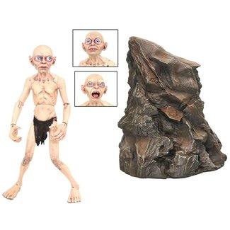 Diamond Select Toys Lord of the Rings Deluxe Action Figure Gollum