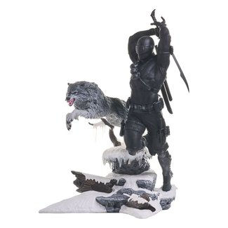 Diamond Select Toys G.I. Joe Gallery PVC Statue Snake Eyes 28 cm