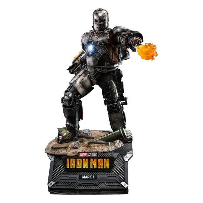 Hot Toys Iron Man Movie Masterpiece Action Figure 1/6 Iron Man Mark I 30 cm