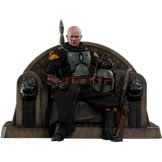 Hot Toys Star Wars The Mandalorian Action Figure 1/6 Boba Fett (Repaint Armor) and Throne 30 cm