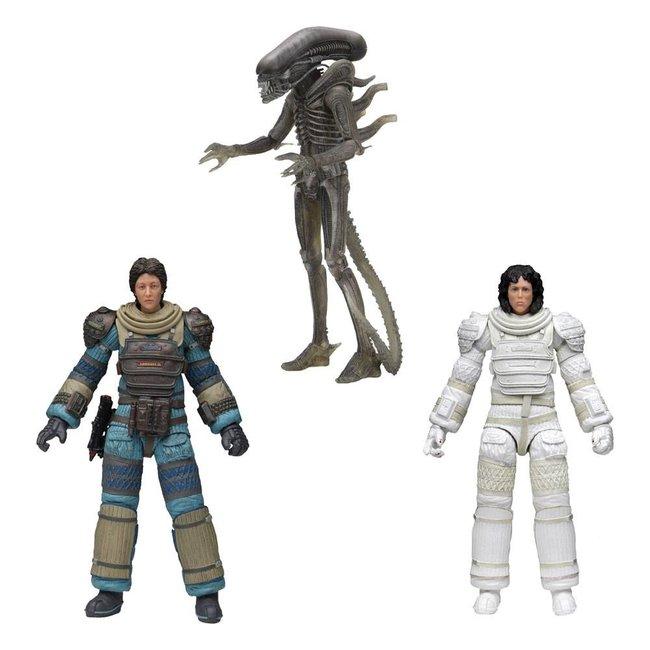 NECA  Alien Action Figure 18 cm 40th Anniversary Series 4 Assortment (3)