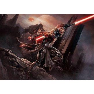 Sideshow Collectibles Star Wars Art Print Darth Maul: Savage Rage 46 x 61 cm - unframed