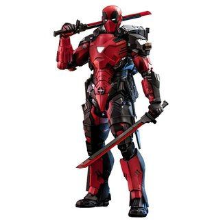 Hot Toys Marvel Comic Masterpiece Action Figure 1/6 Armorized Deadpool 33 cm