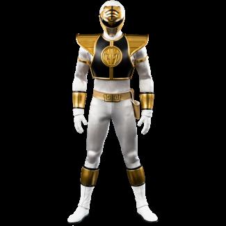 ThreeZero Mighty Morphin Power Rangers FigZero Action Figure 1/6 White Ranger 30 cm