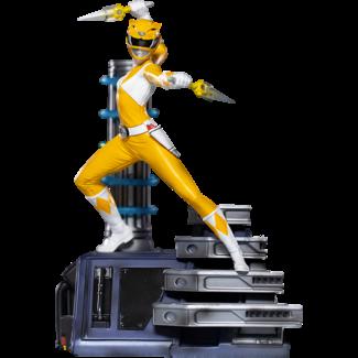 Iron Studios Power Rangers BDS Art Scale Statue 1/10 Yellow Ranger 19 cm