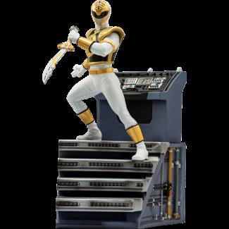 Iron Studios Power Rangers BDS Art Scale Statue 1/10 White Ranger 22 cm