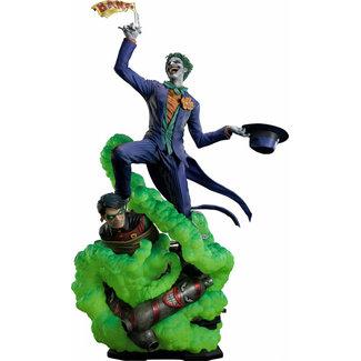 Prime 1 Studio DC Comics Statue 1/3 The Joker Say Cheese Deluxe Bonus Version 99 cm