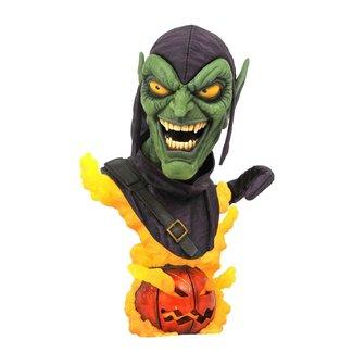 Diamond Select Toys Marvel Legends in 3D Bust 1/2 Green Goblin 24 cm