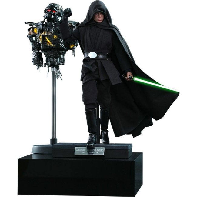 Star Wars The Mandalorian Action Figure 1/6 Luke Skywalker (Deluxe Version) 30 cm
