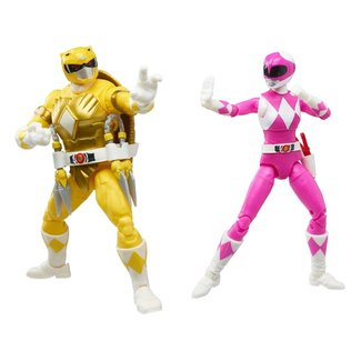 Hasbro Power Rangers x TMNT Lightning Collection Action Figures 2022 Morphed April O´Neil & Michelangelo