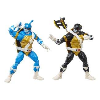 Hasbro Power Rangers x TMNT Lightning Collection Action Figures 2022 Morphed Donatello & Morphed Leonardo