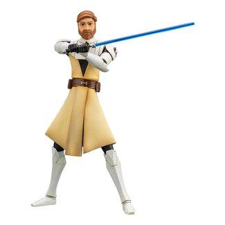 Kotobukiya  Star Wars The Clone Wars ARTFX+ PVC Statue 1/10 Obi-Wan Kenobi 17 cm