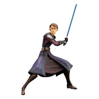 Kotobukiya  Star Wars The Clone Wars ARTFX+ PVC Statue 1/10 Anakin Skywalker 19 cm