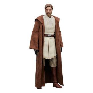 Sideshow Collectibles Star Wars The Clone Wars Action Figure 1/6 Obi-Wan Kenobi 30 cm