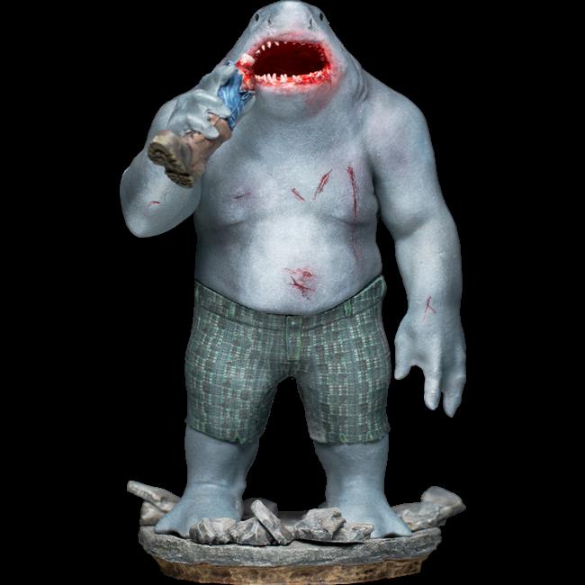 Iron Studios The Suicide Squad BDS Art Scale Statue 1/10 King Shark 23 cm
