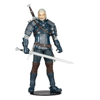 McFarlane The Witcher Action Figure Geralt of Rivia (Viper Armor: Teal Dye) 18 cm