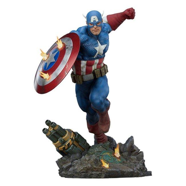Sideshow Collectibles Marvel Premium Format Statue Captain America 53 cm