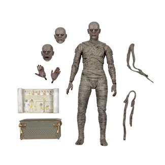 NECA  Universal Monsters Action Figure Ultimate The Mummy (Color) 18 cm