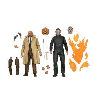 NECA  Halloween II Ultimate Action Figure 2-Pack Michael Myers & Dr Loomis 18 cm