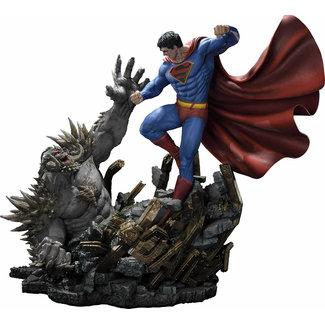 Prime 1 Studio DC Comics Statue 1/3 Superman Vs. Doomsday by Jason Fabok Deluxe Bonus Version 95 cm