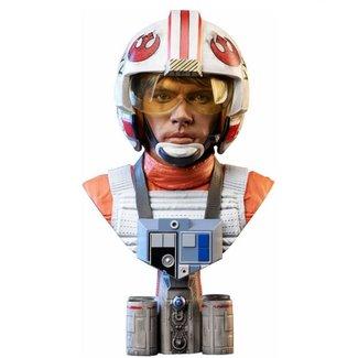 Diamond Select Toys Star Wars A New Hope - Legends in 3D Luke Skywalker Pilot 1:2 Scale Bust