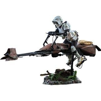 Hot Toys Star Wars Episode VI Action Figure 1/6 Scout Trooper & Speeder Bike 30 cm