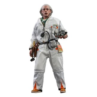 Hot Toys Back To The Future Movie Masterpiece Action Figure 1/6 Doc Brown 30 cm