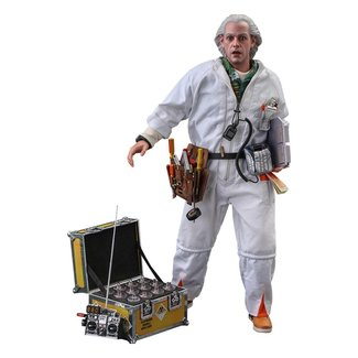 Hot Toys Back To The Future Movie Masterpiece Action Figure 1/6 Doc Brown (Deluxe Version) 30 cm