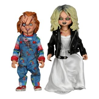 NECA  Bride of Chucky Clothed Action Figure 2-Pack Chucky & Tiffany 14 cm