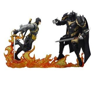 McFarlane DC Multiverse Action Figure Collector Multipack Batman vs Azrael Batman Armor 18 cm