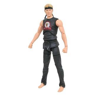 Diamond Select Toys Cobra Kai Action Figure Johnny Lawrence Eagle Fang Previews Exclusive 18 cm