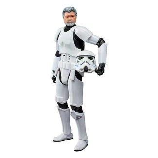 Hasbro Star Wars Black Series Action Figure 2021 George Lucas (in Stormtrooper Disguise) 15 cm