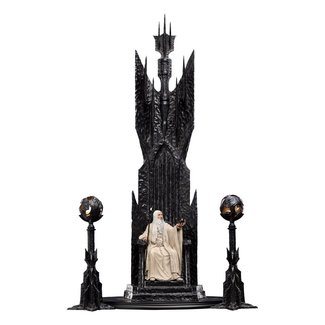 Weta Workshop The Lord of the Rings Statue 1/6 Saruman the White on Throne 110 cm