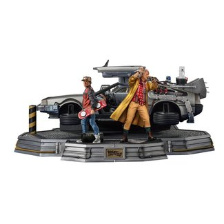 Iron Studios Back to the Future II Art Scale Statues 1/10 Full Set Deluxe 58 cm