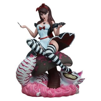 Fairytale Fantasies Collection Statue Alice in Wonderland Game of Hearts Edition 34 cm