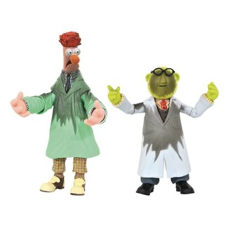 Diamond Select Toys The Muppets Action Figure Box Set Lab Accident Bunsen & Beaker SDCC 2021 Previews Exclusive