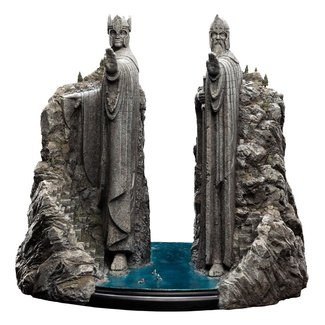 Weta Workshop Lord of the Rings Statue The Argonath Environment 34 cm