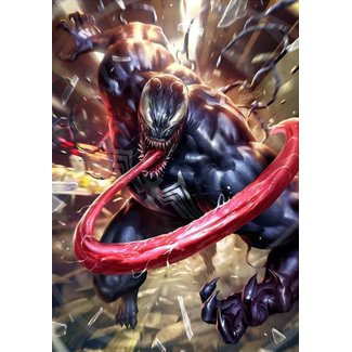 Sideshow Collectibles Marvel Art Print Venom 46 x 61 cm - unframed