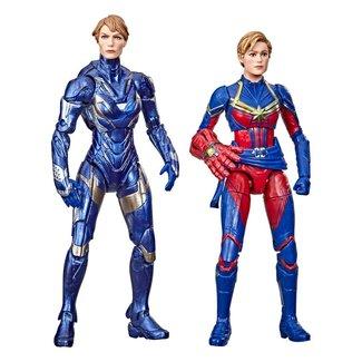 Hasbro Avengers: Endgame Marvel Legends Action Figure 2021 Captain Marvel & Rescue Armor 15 cm