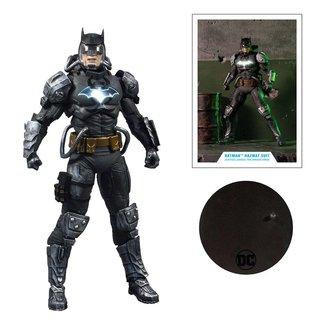 McFarlane DC Multiverse Action Figure Batman Hazmat Suit Gold Label Light Up Batman Symbol 18 cm