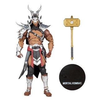 McFarlane Mortal Kombat Action Figure Shao Kahn (Platinum Kahn) 18 cm