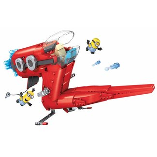 Minions Mega Bloks Construction Set Super Villain Jet