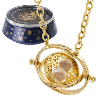 Noble Collection Harry Potter Hermione´s Time Turner Special Edition (gold plated)