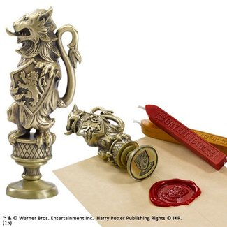 Noble Collection Harry Potter Wax Stamp Gryffindor